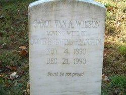 Carol Van Antwerp <I>Wilson</I> Franklin