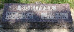 Aurlette Ada <I>Hoag</I> Schipper