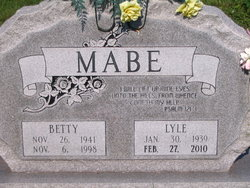 Betty Lee <I>Brown</I> Mabe
