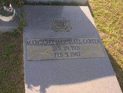 Margaret <I>Marshall</I> Carter