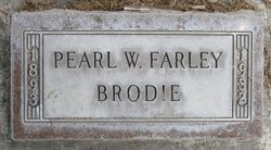 Pearley <I>West</I> Brodie