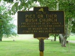 Pict Bush or Ther Bush Church Cemetery
