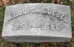 M. Louisa Goebel