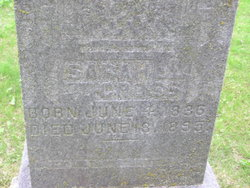 Sarah Louisa <I>Pelton</I> Cross