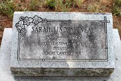 Sarah Ann <I>Lindsey</I> Neal