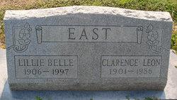 Lillie Belle <I>Hall</I> East