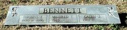Mildred Eugenia <I>Thomas</I> Bennett