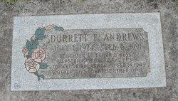 Dorrett E. <I>Gilpatrick</I> Andrews