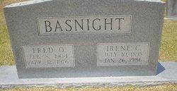 Irene <I>Cessna</I> Basnight
