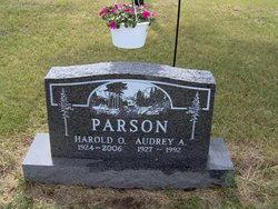 Audrey Ann <I>Rhoads</I> Parson