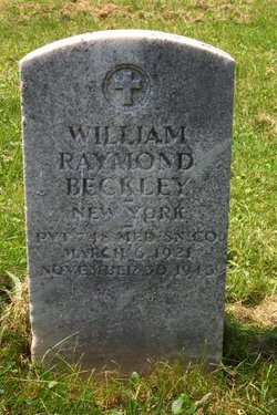 Pvt William Raymond Beckley