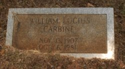 William Lucius Carbine Jr.