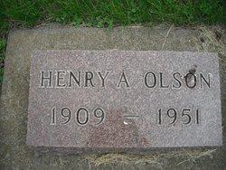 """Henry Almer """"Hank"""" Olson"""