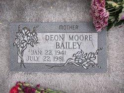 Deon <I>Moore</I> Bailey