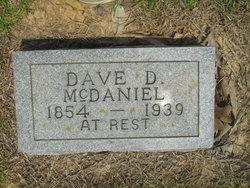 """David D """"Pa Dave"""" McDaniel"""