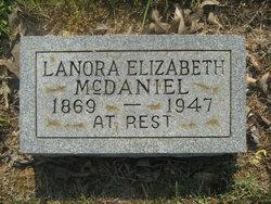 "Lanora Elizabeth ""Ma Bet"" McDaniel"