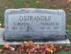 Sarah Bertha <I>Peterson</I> Ostrander