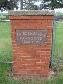 Friedensberg Mennonite Cemetery