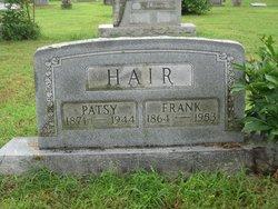 Patsy Jane <I>Estes</I> Hair