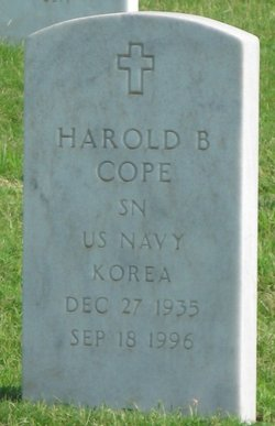 Harold B Cope