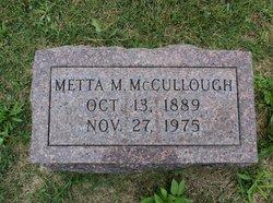 Metta Margaret <I>Millikin</I> McCullough