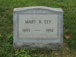 Mary Katherine <I>Throckmorton</I> Ely