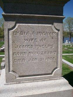Lydia A. <I>Ingham</I> Phelps