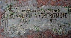 Ronald D Abercrombie
