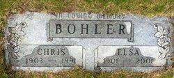 Elsa B. <I>Hartmann</I> Bohler