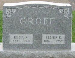 Edna R <I>Meck</I> Groff