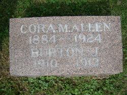 Cora May <I>Stone</I> Allen