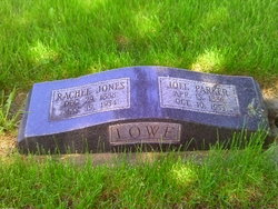 Rachel Cecilia <I>Jones</I> Lowe
