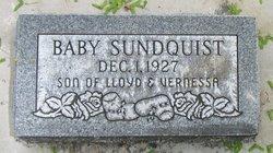 Baby Boy Sundquist