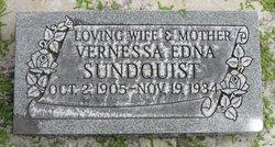 Vernessa Edna <I>DeGraw</I> Sundquist