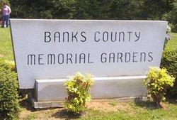 Banks County Memorial Gardens