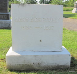 Mary Ann <I>Merrifield</I> Gregory