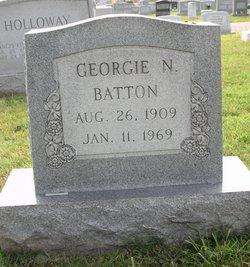 Georgie Mae <I>Nash</I> Batton