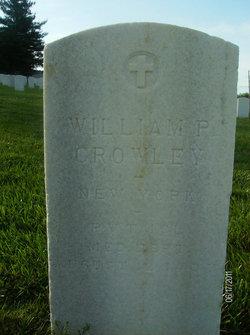 William P Crowley