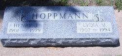 Lydia Margaret Henrietta Sophia <I>Schweitzer</I> Hoppmann