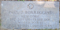 PFC Paul J Borreggine