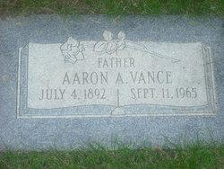 Aaron Artemus Vance