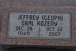 "Jeffrey Oral ""Geoph"" Kozeny"