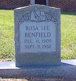Rosa Lee <I>Measimer</I> Benfield