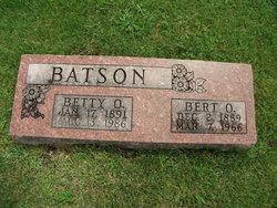 Betty O. <I>Williams</I> Batson