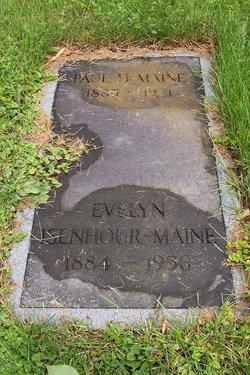 """Evelyn M. """"Eva"""" <I>Isenhour</I> Maine"""