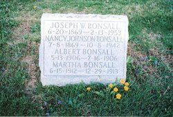 Nancy <I>Johnson</I> Bonsall