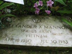 Alexander X. Mannor