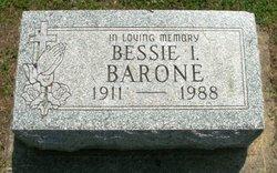 Bessie I. <I>Brackett</I> Barone