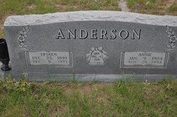 Annie <I>Prestridge</I> Anderson