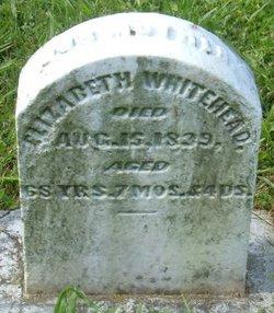 Elizabeth <I>Routt</I> Whitehead